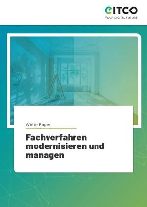 Cover - White-Paper zur Modernisierung von Fachverfahren - EITCO